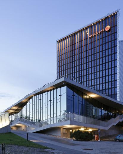 Swedbank HQ in Vilnius