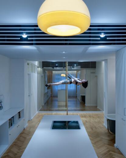 Dancer's flat