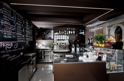 CHOCOLATE shop and bar