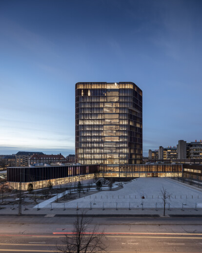 Maersk Tower extension of the Panum Complex, Unive