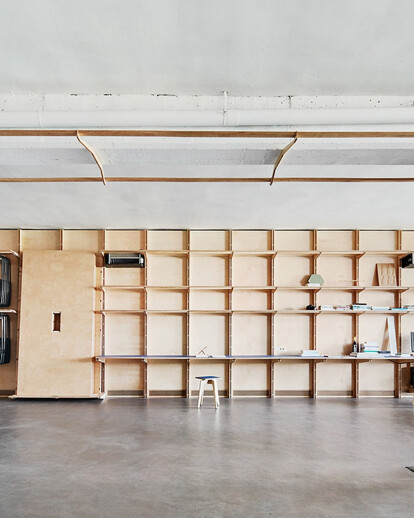 Co-working and maker space