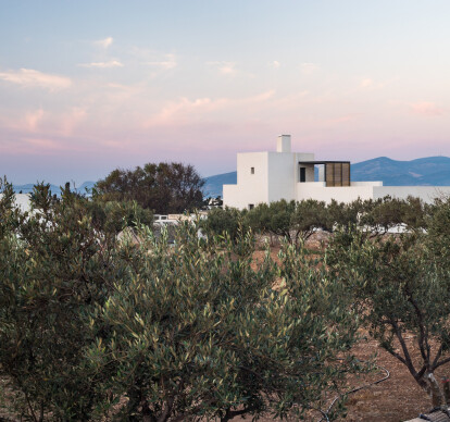 Kampos House in the Greek island of Paros