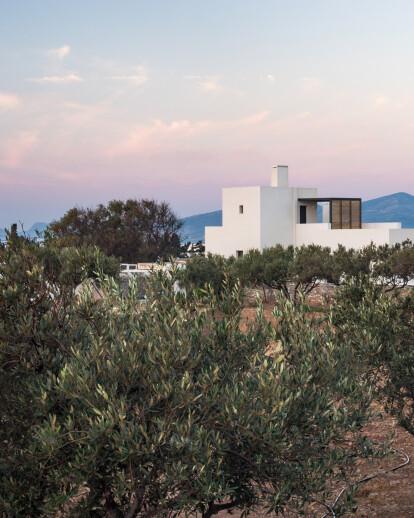 Kampos House in the Greek island of Paros