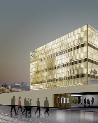 A.M. QATTAN FOUNDATION BUILDING IN RAMALLAH