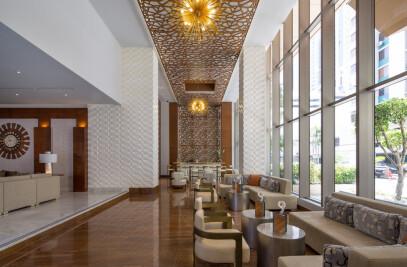WallArt 3d Wall Decor 'Vaults' in Waldorf Astoria Hotel in Panama