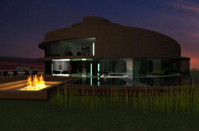 Spiral house - Mt. Marua 02