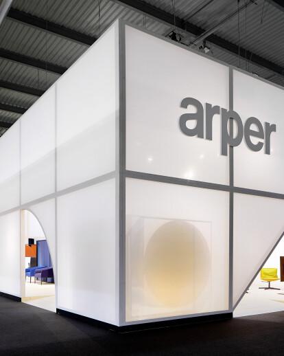 2 BOOTHS FOR ARPER - SALONE DEL MOBILE 2017
