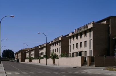Residential block in carabanchel