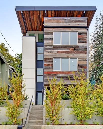New Net Zero Home in Seattle (Mount Baker)
