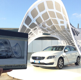 Volvo Pure Tension Pavilion