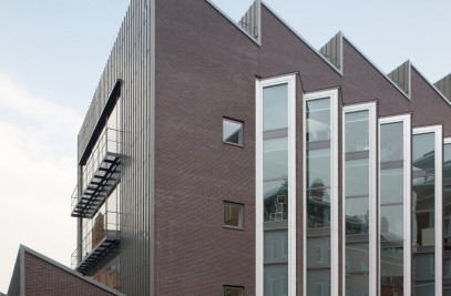 Dutch institute for cultural heritage restoration and conservation at Ateliergebouw