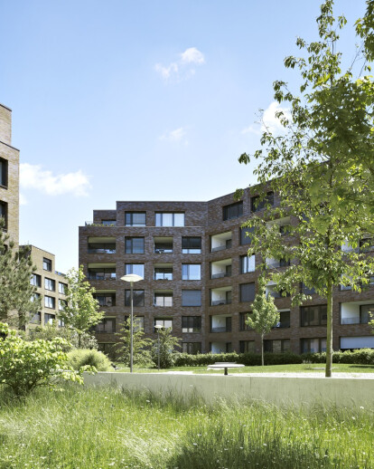 DENSA - 99 Apartments for Basel-Nord