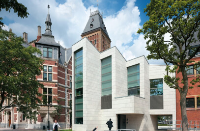 Drawing school and staff entrance building of the Rijksmuseum