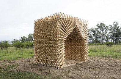 SOMBRA PAMPA (pavilion for Hello Wood Argentina 2017)