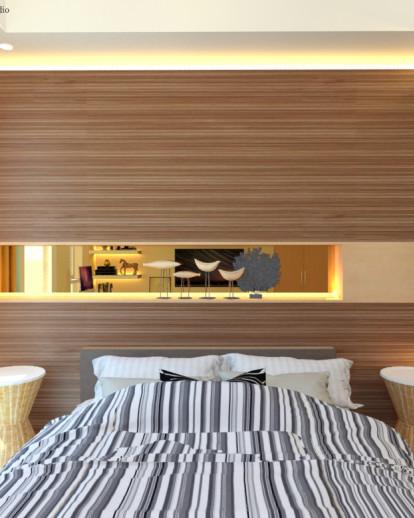 Modern Guest Bedroom . Indonesia