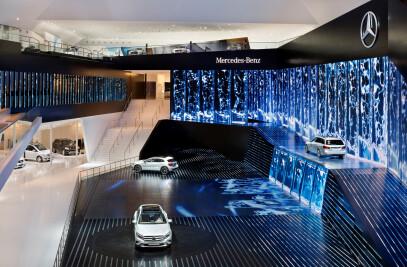 Mercedes International Automobil Ausstellung