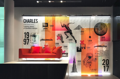B&B Italia Charles / 20° years of Timeless Design