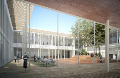 New University in the Arcispedale Sant'Anna - Competition 2nd prize