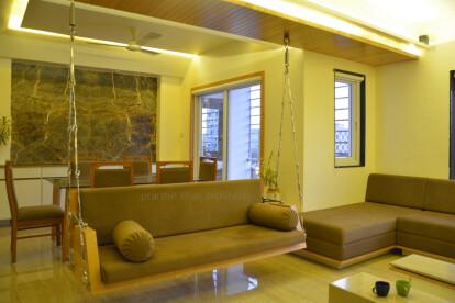 apartment interior @ shroff road prarthit shah architects