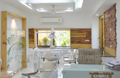 Dental Unit @ prarthana Hospital Prarthit Shah Architects Rajkot