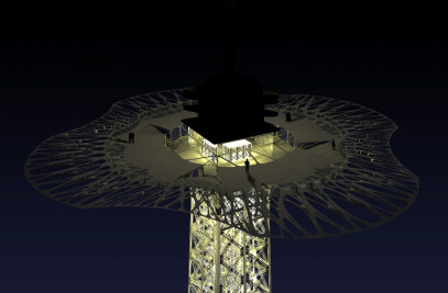 Eiffel DNA, Restructuration of public spaces of the Eiffel Tower