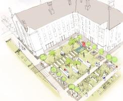 Dorchester Prison Landscape Concept