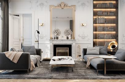 Exquisite flat in Paris