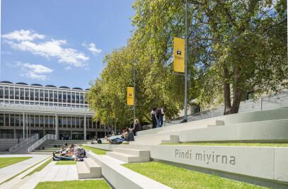 Plaza Redevelopment and Student Hub, Flinders University