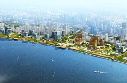 Inbo wins bidding Waterfront downtown Shanghai