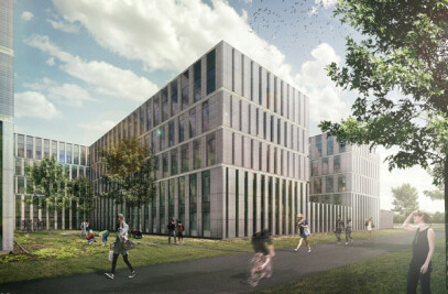 First phase of new science campus Leiden University