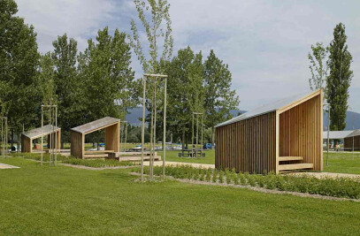 9 x PAVILIONS in Parc des Rives