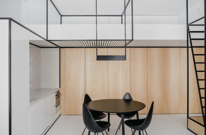 WIREFRAME Apartment by MUS ARCHITECTS