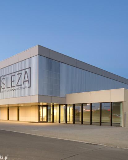 Ślęza Swimming Pool in Bielany Wrocławskie