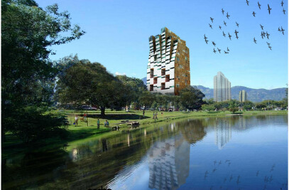 Mixed use tower in San Jose de Costa Rica