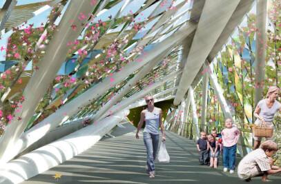 New Kwun Tong Foot Bridge