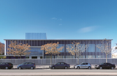 BIG SIZE LOUVERS PROTECTING HEALTH CENTER
