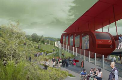 Vesuvio Red Train