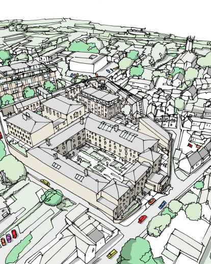 1610 The Old Shepton Mallet Gaol (Shepton Mallet Prison Redevelopment)