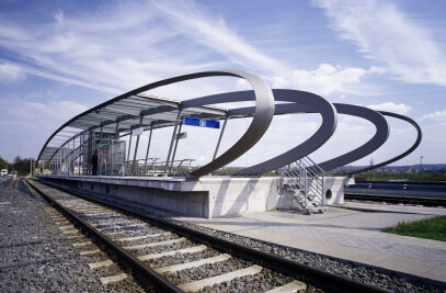 Urban Railway Station Gottesacker