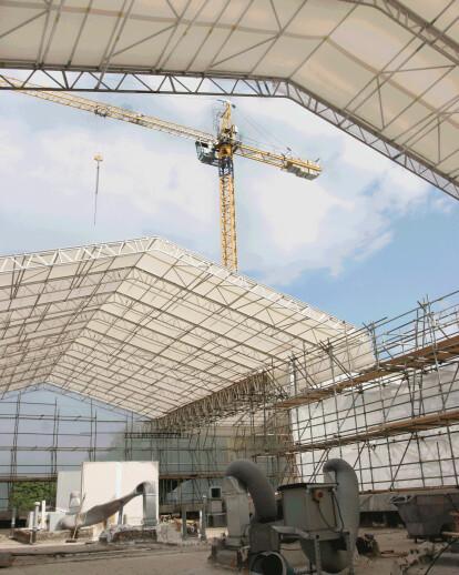 Combisafe's UBIX® roofing system