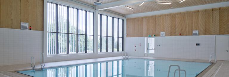 Ślęza Swimming Pool / Basen Ślęza - Bielany Wrocławie
