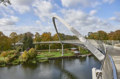 Weinbergbrücke - Federal Garden Show 2015 Havel Region