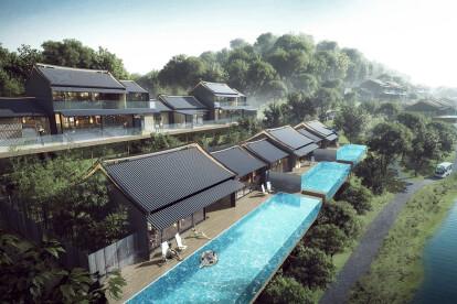 Zhuhai Hengqin Tianhu Hotel Development Aedas Archello
