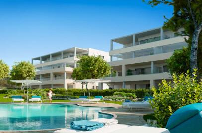Architectural visualization new development in Mallorca