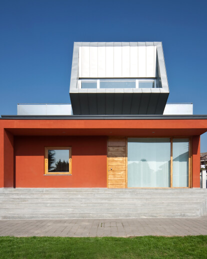 The house on the house