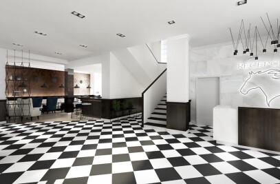 Eclectic Hotel Interior