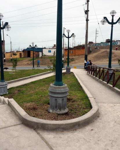 Parque público para discapacitados en Ventanilla