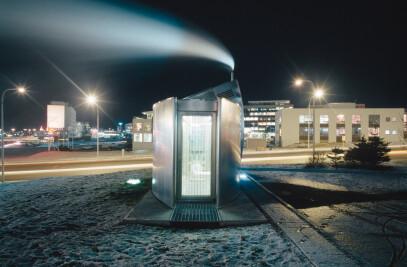 Geothermal pump stations