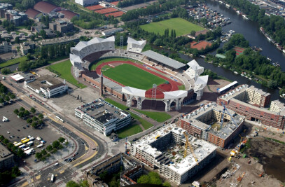 Temporary extension Olympic Stadium Amsterdam