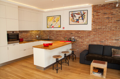 Small apartment in the city center